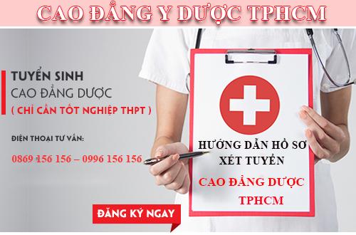 Tuyển sinh Cao đẳng Dược TPHCM