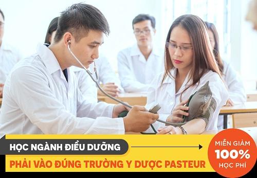 Học ngành Điều Dưỡng phải vào đúng trường Pasteur