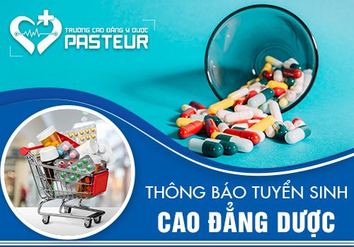 Trường Cao đẳng Y Dược Pasteur tuyển sinh Cao đẳng Dược học tại Đà Nẵng