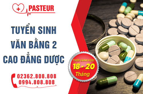 Trường Cao đẳng Y Dược Pasteur Đà Nẵng - Thời gian đào tạo 18-20 tháng