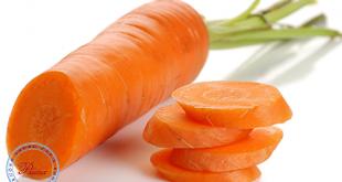 Khi bị viêm họng nên ăn cà rốt.