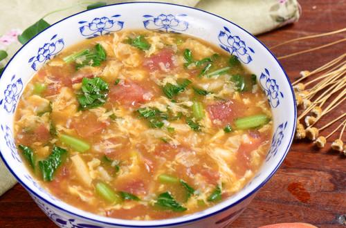 Canh trứng cà chua: Món ngon từ miền ký ức
