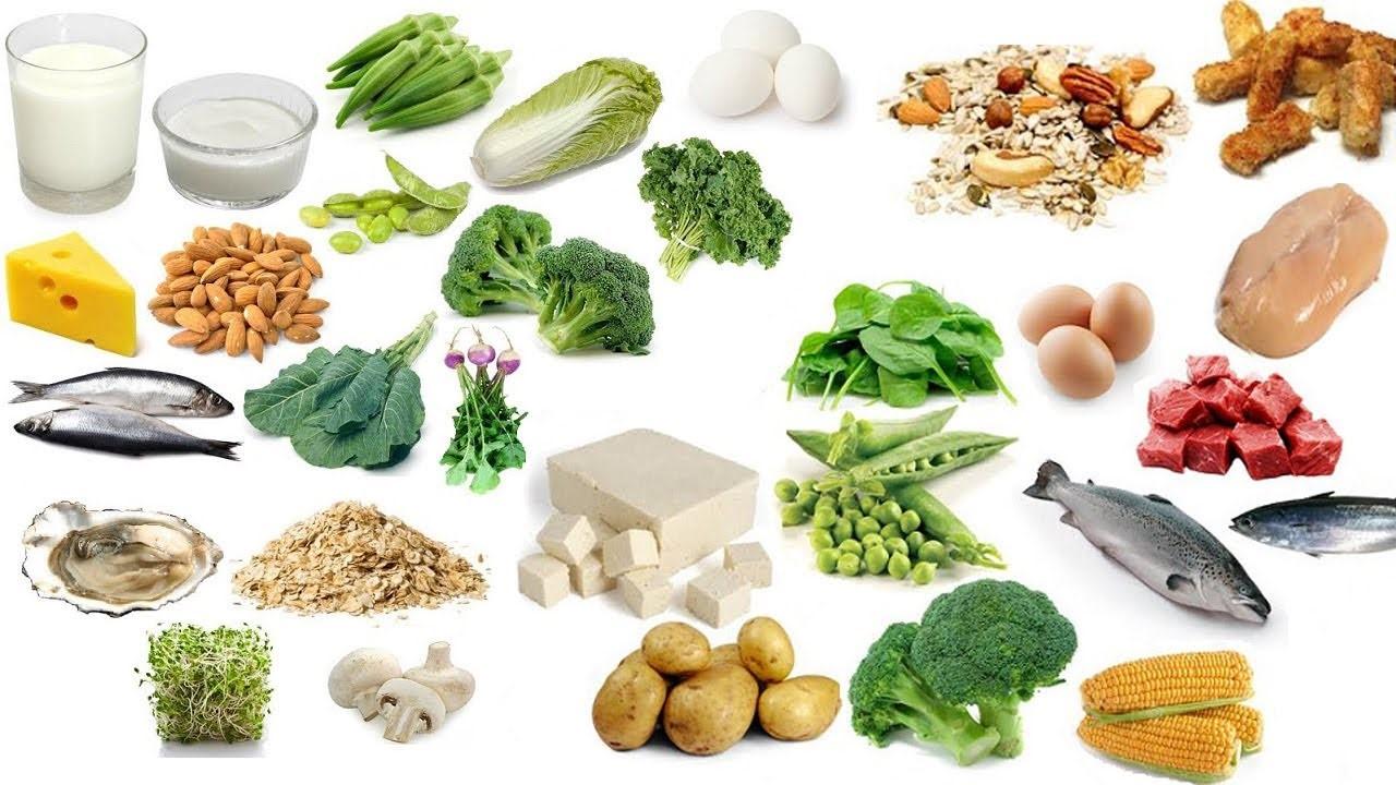Chế độ ăn uống bổ sung canxi