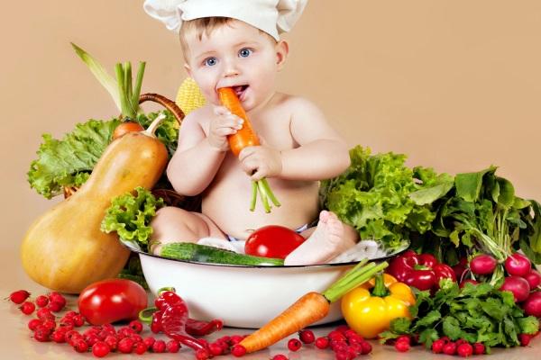 Những loại rau củ tốt cho trẻ ăn dặm