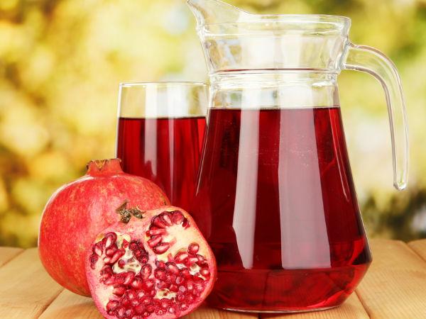 Nước lựu giúp cải thiện lưu thông máu tới tim